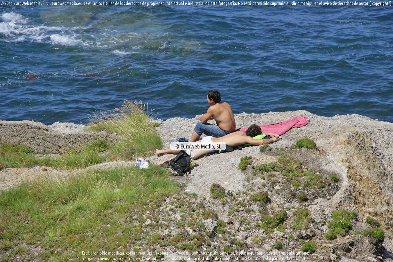 Fotografía de Playa de Serín en Gijón. Asturias. España.