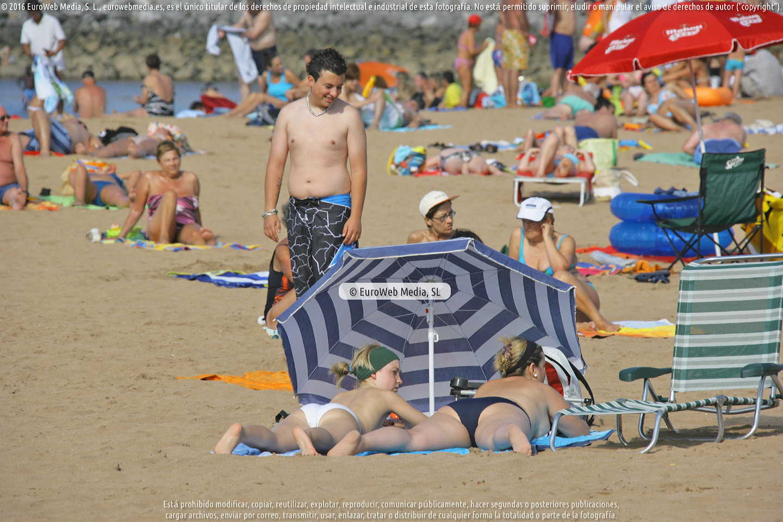 Fotografía de Playa del Arbeyal en Gijón. Asturias. España.