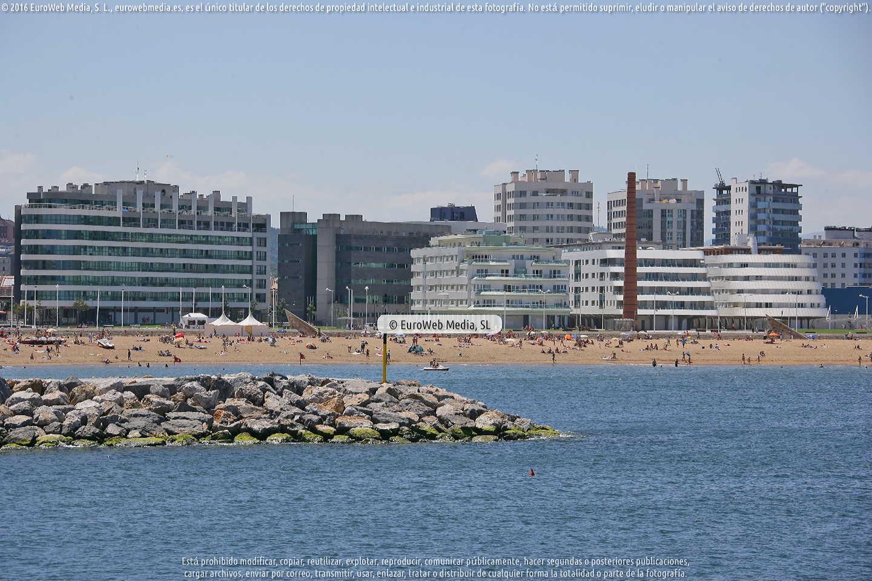 Fotografía de Puerto Deportivo de Gijón en Gijón. Asturias. España.