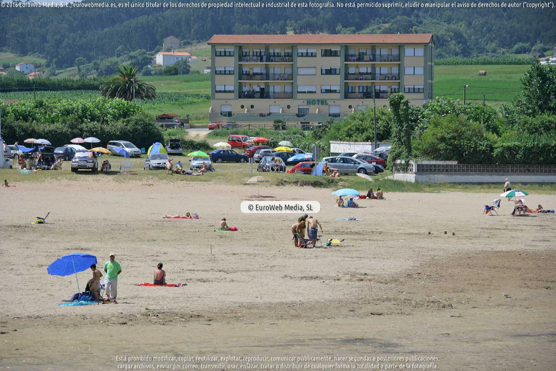 Fotografía de Playa Bañugues en Gozón. Asturias. España.