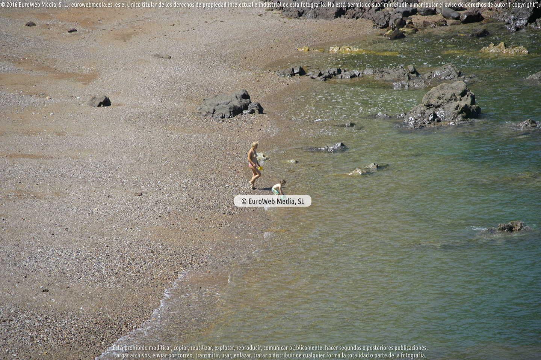 Fotografía de Playa Gargantera en Gozón. Asturias. España.