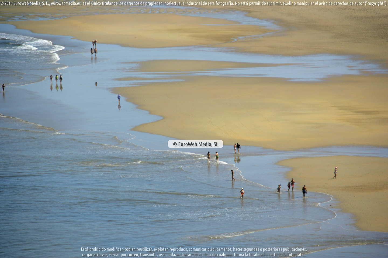 Fotografía de Playa Xagó en Gozón. Asturias. España.