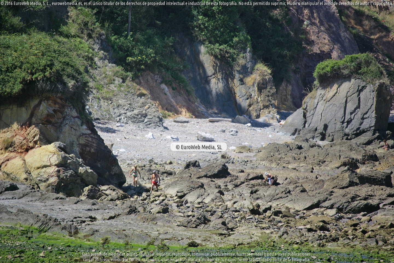 Fotografía de Playa El Dique en Gozón. Asturias. España.