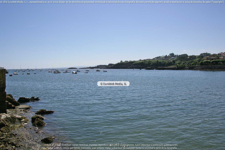 Fotografía de Playa La Ribera en Gozón. Asturias. España.