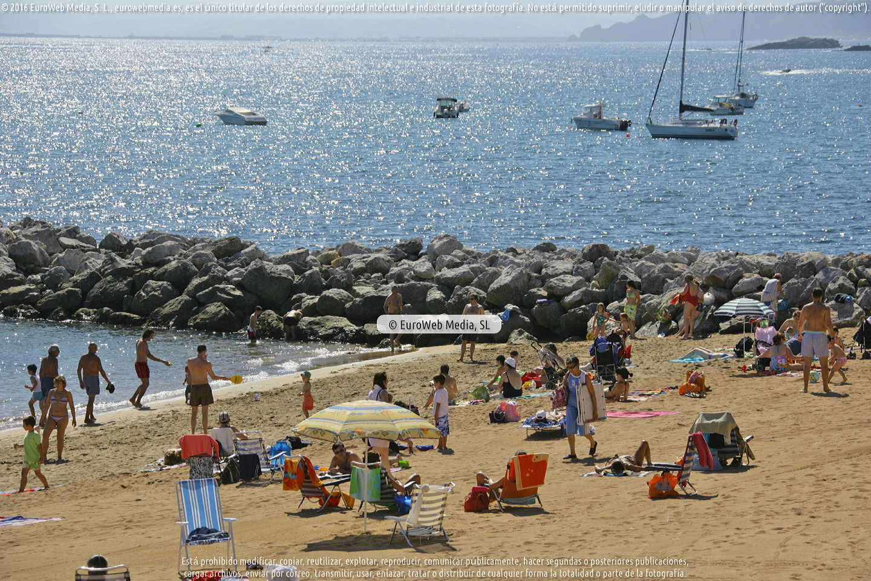 Fotografía de Playa Santa Marina de Luanco en Gozón. Asturias. España.