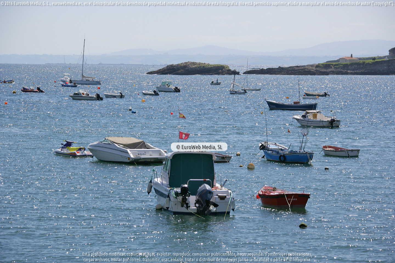 Fotografía de Puerto de Luanco en Gozón. Asturias. España.