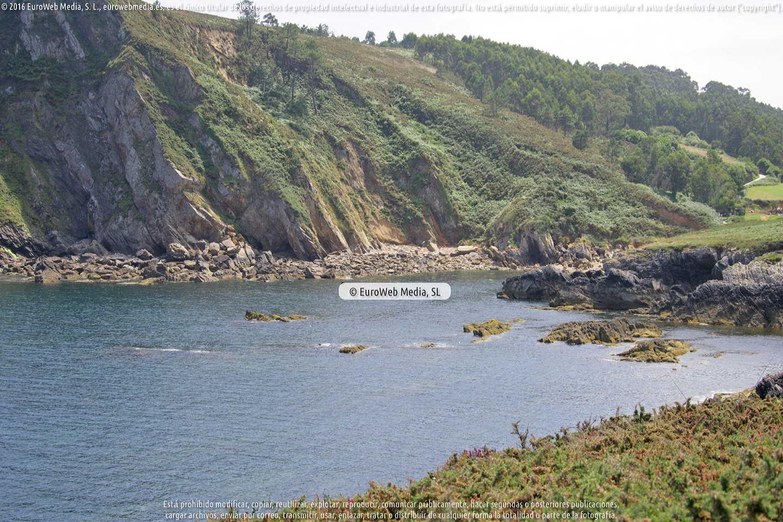 Fotografía de Playa Moniello en Gozón. Asturias. España.