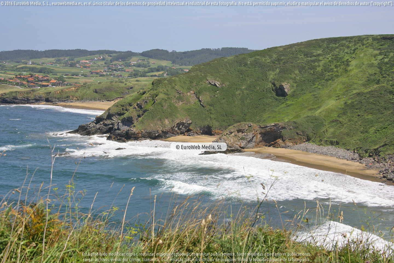 Fotografía de Playa de Aguilera en Gozón. Asturias. España.