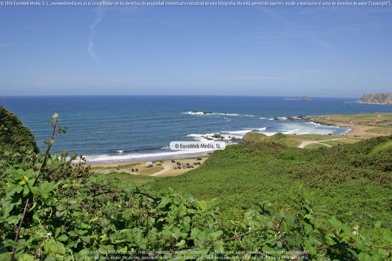 Fotografía de Playa Carniciega en Gozón. Asturias. España.