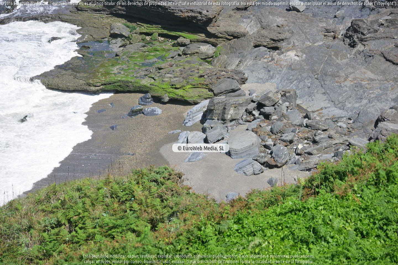 Fotografía de Playa de Portazuelos en Gozón. Asturias. España.