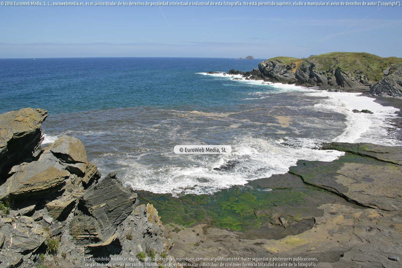 Fotografía de Playa de Riba de Pachón en Gozón. Asturias. España.