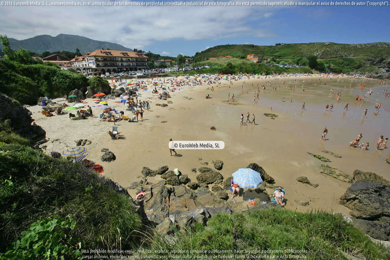 Fotografía de Playa Barro - Miracielos en Llanes. Asturias. España.