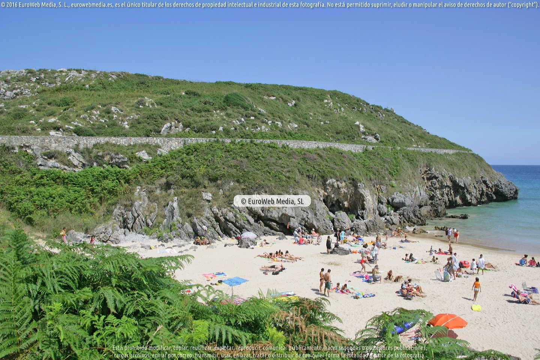 Fotografía de Playa Borizo - Borizu en Llanes. Asturias. España.
