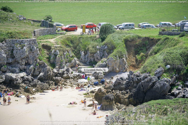 Fotografía de Playa de Troenzo en Llanes. Asturias. España.