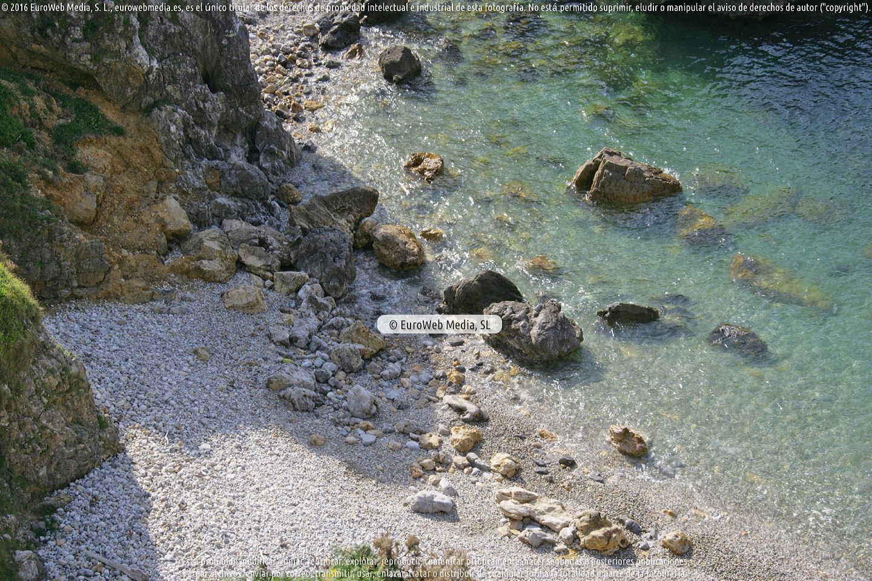 Fotografía de Playa Pestaña en Llanes. Asturias. España.