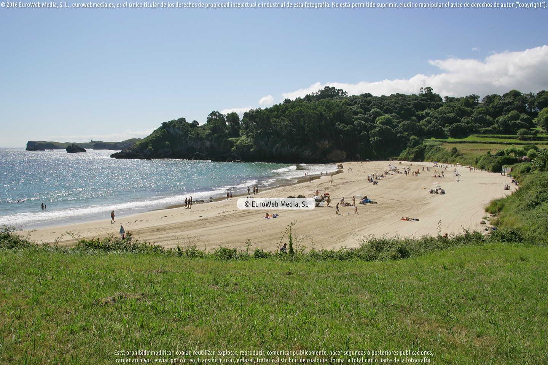Fotografía de Playa Niembro - Toranda - Torranza en Llanes. Asturias. España.