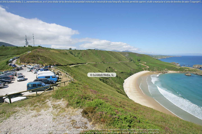 Fotografía de Playa Torimbia en Llanes. Asturias. España.