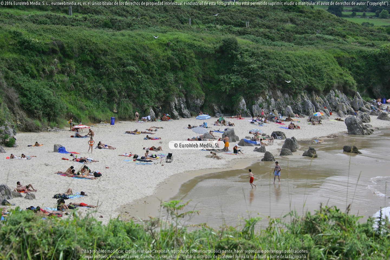 Fotografía de Playa Toró en Llanes. Asturias. España.