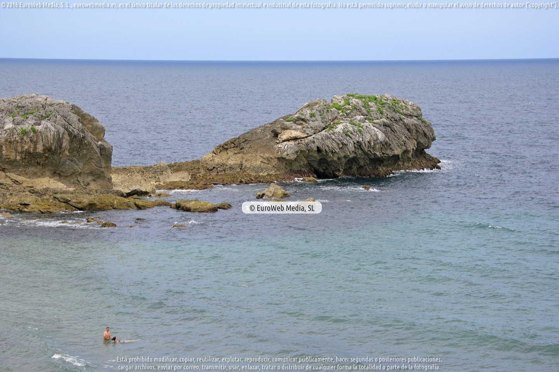 Fotografía de Playa de La Huelga en Llanes. Asturias. España.