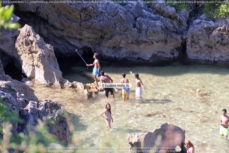 Fotografía de Playa Las Mujeres en Llanes. Asturias. España.