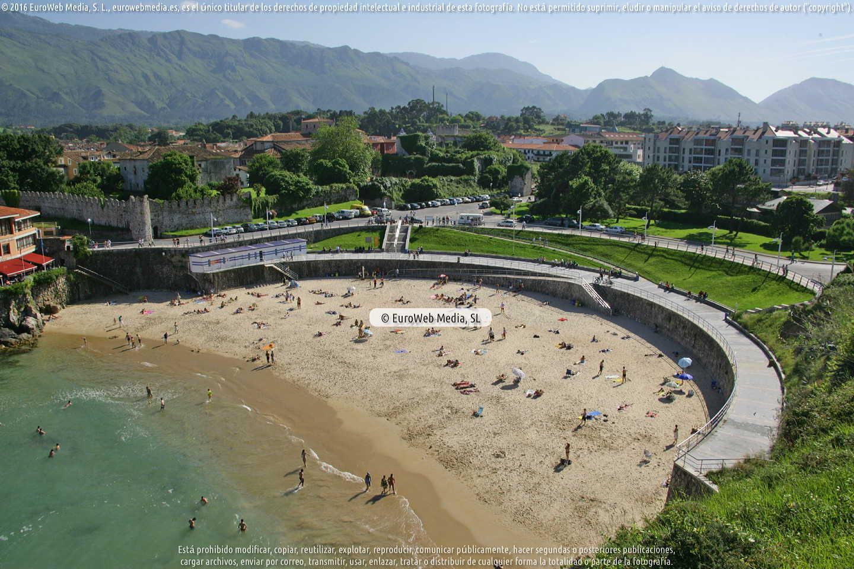 Fotografía de Playa Sablón en Llanes. Asturias. España.