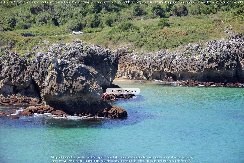 Fotografía de Playa Entremares en Llanes. Asturias. España.