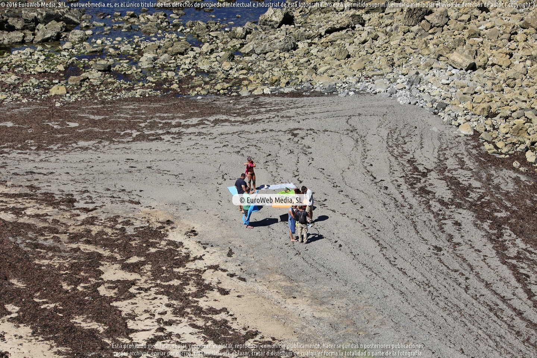Fotografía de Playa Pendueles - Castiello en Llanes. Asturias. España.