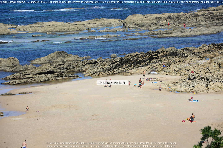 Fotografía de Playa Vidiago - Bretones en Llanes. Asturias. España.