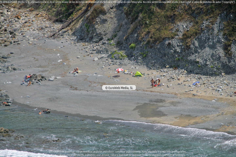 Fotografía de Playa de Las Llanas en Muros de Nalón. Asturias. España.