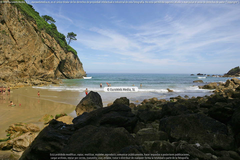 Fotografía de Playa de Xilo - Veneiru en Muros de Nalón. Asturias. España.