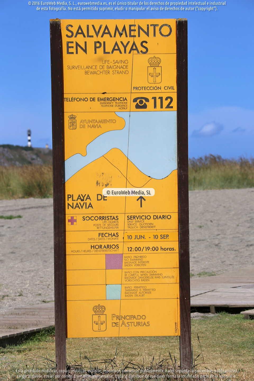 Fotografía de Playa Navia en Navia. Asturias. España.
