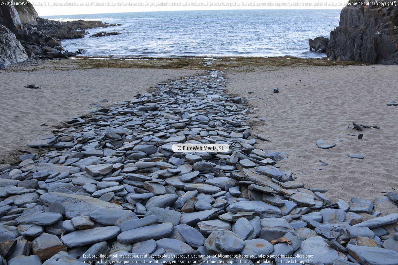 Fotografía de Playa de Coedo - Cuedo en Navia. Asturias. España.