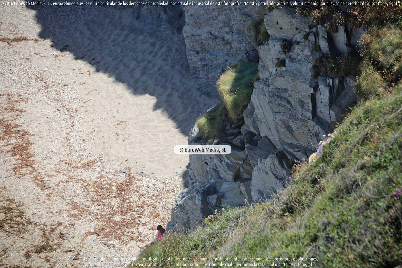 Fotografía de Playa Peñafurada - El Moro en Navia. Asturias. España.