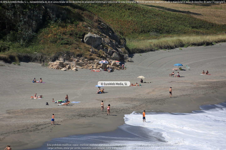 Fotografía de Playa Frejulfe - Frexulfe en Navia. Asturias. España.
