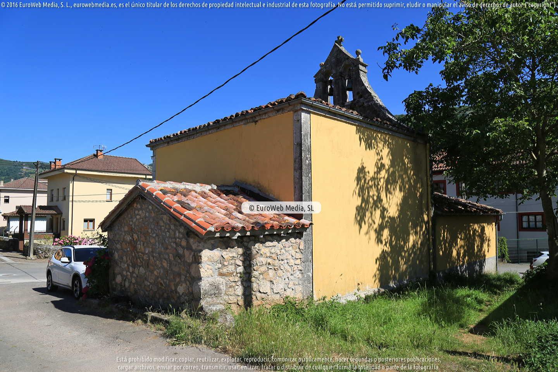 Fotografía de Capilla de San Roque (Benia de Onis) en Onís. Asturias. España.