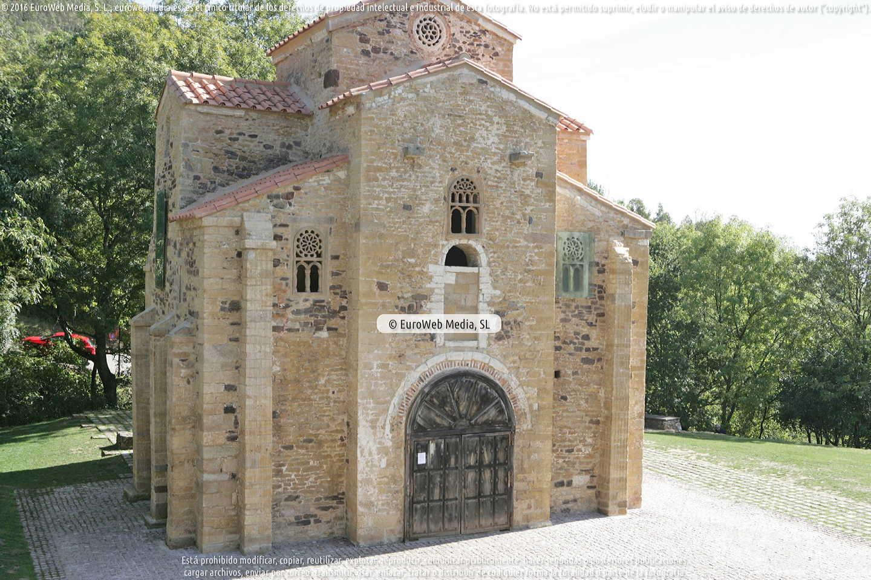 Fotografía de Iglesia de San Miguel de Lillo en Oviedo. Asturias. España.
