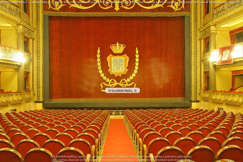 Fotografía de Teatro Campoamor en Oviedo. Asturias. España.