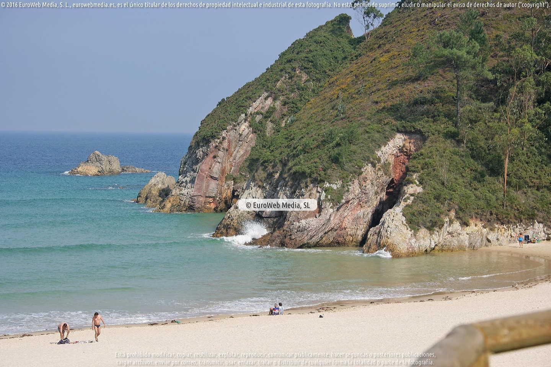 Fotografía de Playa La Franca en Ribadedeva. Asturias. España.