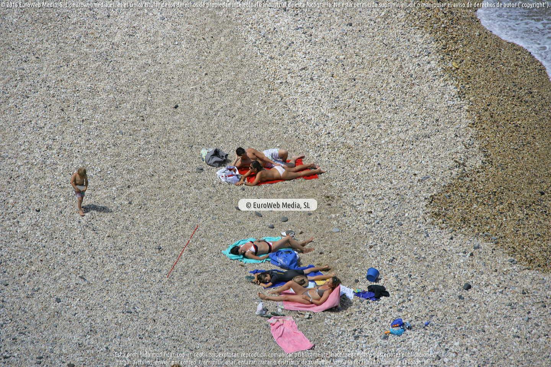Fotografía de Playa La Atalaya en Ribadesella. Asturias. España.