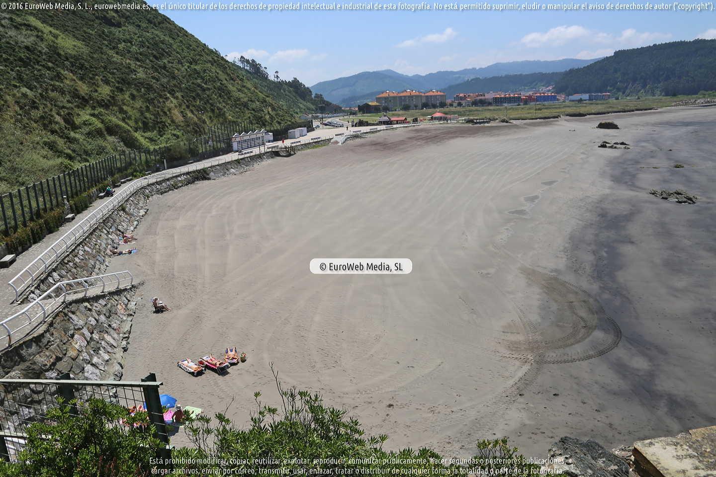 Fotografía de Playa Los Quebrantos en Soto del Barco. Asturias. España.