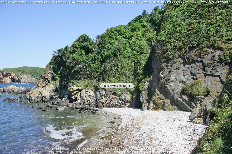 Fotografía de Playa de El Figo - Figus en Tapia de Casariego. Asturias. España.