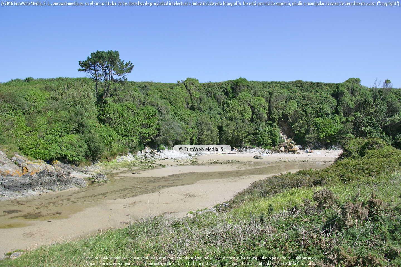 Fotografía de Playa de la Paloma en Tapia de Casariego. Asturias. España.