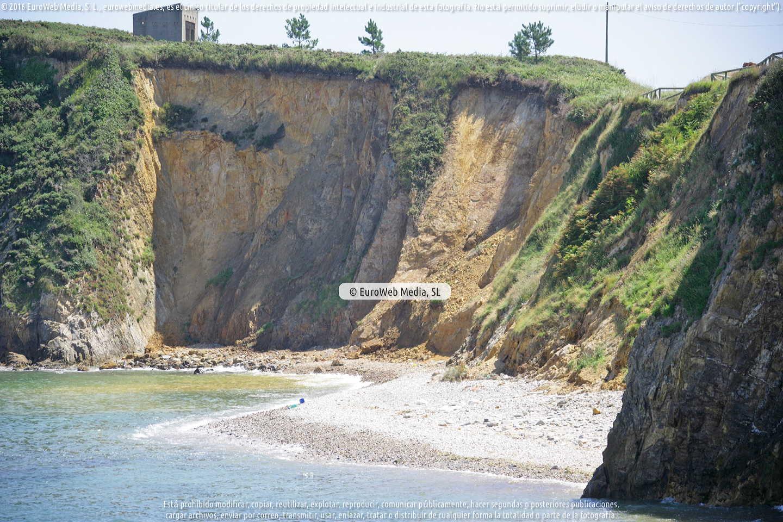 Fotografía de Playa de Represas en Tapia de Casariego. Asturias. España.