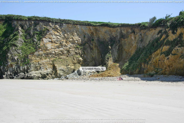 Fotografía de Playa Santa Gadea - Pantorga - A Ribeira en Tapia de Casariego. Asturias. España.