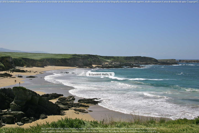 Fotografía de Playa Sarello en Tapia de Casariego. Asturias. España.
