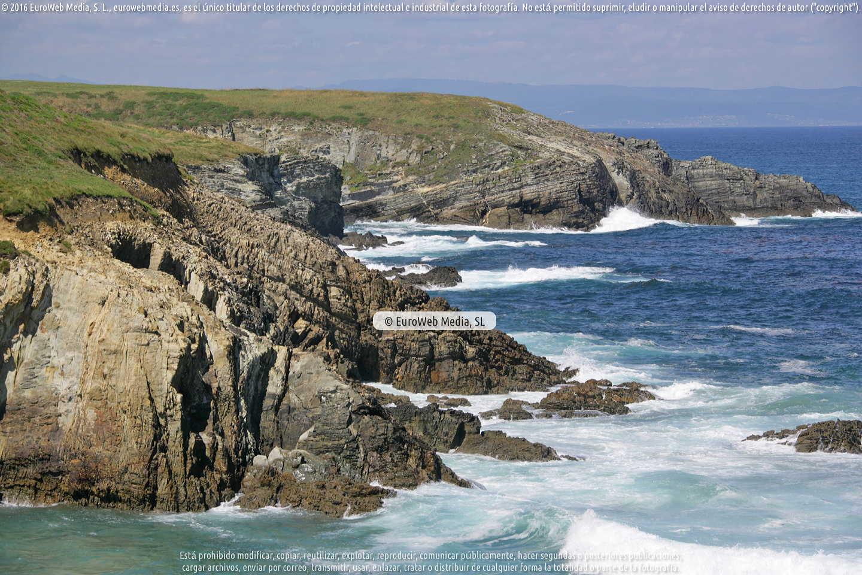 Fotografía de Costa Occidental en Tapia de Casariego. Asturias. España.