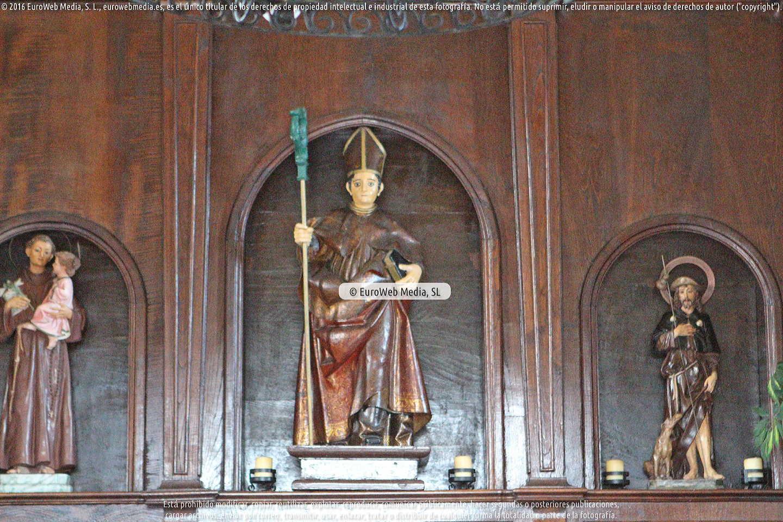 Fotografía de Capilla de San Roque y San Martín en El Chano en Valdés. Asturias. España.