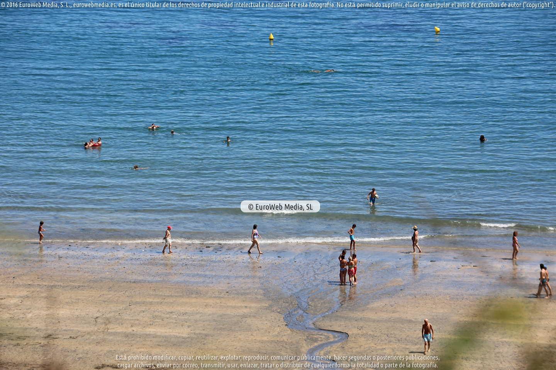Fotografía de Playa Salinas (Valdés) en Valdés. Asturias. España.