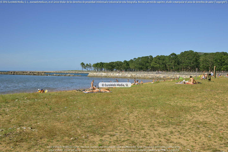 Fotografía de Playa del Puntal en Villaviciosa. Asturias. España.