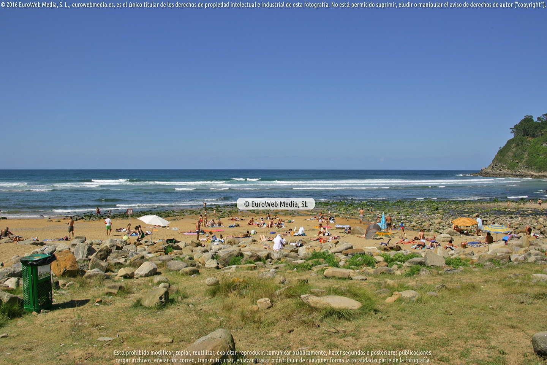 Fotografía de Playa España en Villaviciosa. Asturias. España.